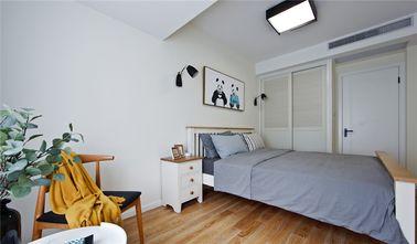 富裕型一室一厅北欧风格卧室效果图