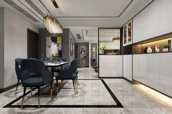 经济型140平米三室两厅轻奢风格餐厅装修图片大全