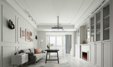 10-15万100平米三室一厅法式风格客厅欣赏图