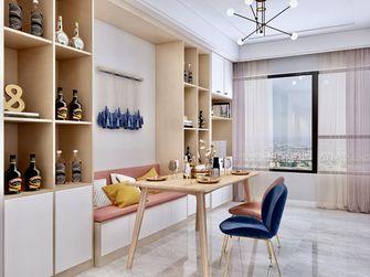 富裕型130平米四室两厅北欧风格餐厅欣赏图