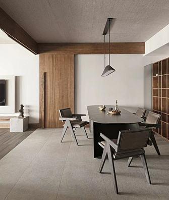 20万以上140平米四室一厅日式风格餐厅设计图