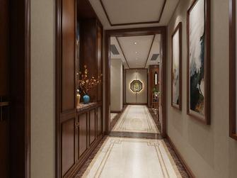 140平米三室一厅新古典风格走廊装修效果图