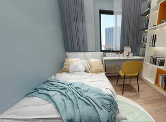60平米三室两厅美式风格青少年房装修案例