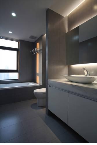 110平米三室一厅日式风格卫生间欣赏图