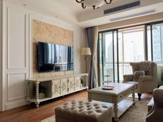 120平米三美式风格客厅图片大全