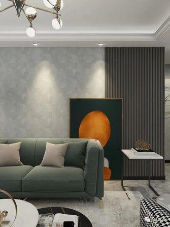 130平米三室两厅混搭风格客厅装修案例