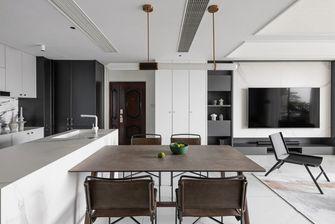 经济型130平米三室两厅美式风格餐厅图片大全