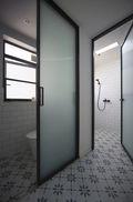 经济型80平米公寓现代简约风格卫生间装修案例