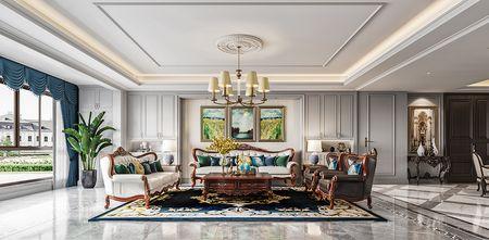 20万以上140平米别墅新古典风格客厅装修效果图