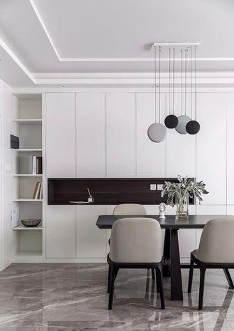 富裕型110平米三室一厅北欧风格餐厅图片大全