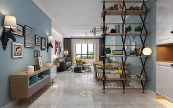 10-15万130平米三室两厅北欧风格玄关装修案例