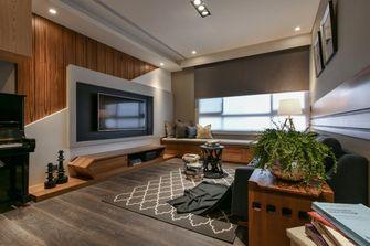 20万以上100平米三室两厅工业风风格客厅图