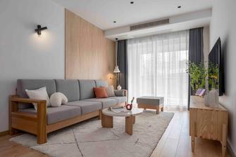 70平米一室一厅现代简约风格客厅装修效果图