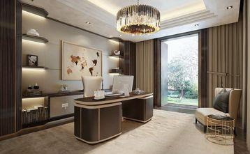 140平米四室两厅港式风格书房设计图