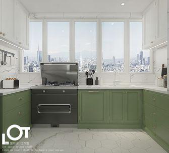 3万以下140平米混搭风格厨房设计图