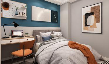 110平米四北欧风格卧室装修案例