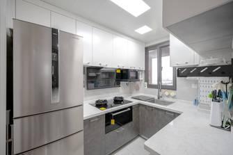 豪华型90平米三室两厅北欧风格厨房图片