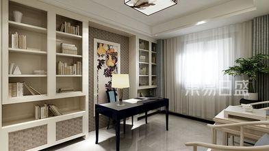 豪华型140平米三中式风格书房装修案例