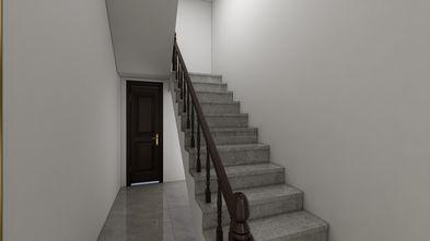 富裕型110平米中式风格楼梯间装修效果图