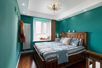 120平米三室一厅美式风格卧室装修案例