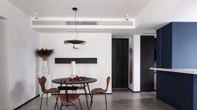120平米三室一厅工业风风格餐厅装修图片大全
