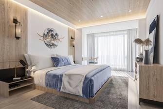 140平米别墅日式风格卧室效果图