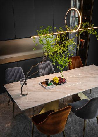 15-20万90平米三室一厅轻奢风格餐厅装修案例