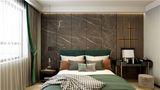 富裕型110平米三室一厅英伦风格卧室装修图片大全