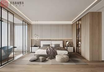 豪华型140平米四室两厅混搭风格卧室图片