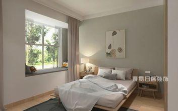 110平米三日式风格卧室设计图
