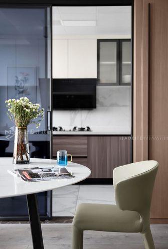 140平米三室四厅现代简约风格餐厅欣赏图