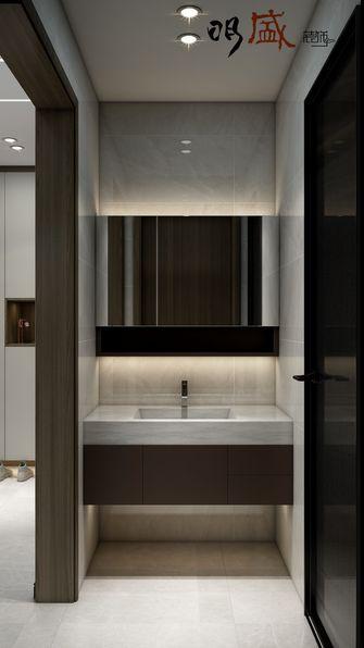 经济型140平米三室两厅现代简约风格卫生间效果图