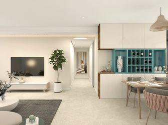 经济型140平米三室两厅现代简约风格餐厅装修案例