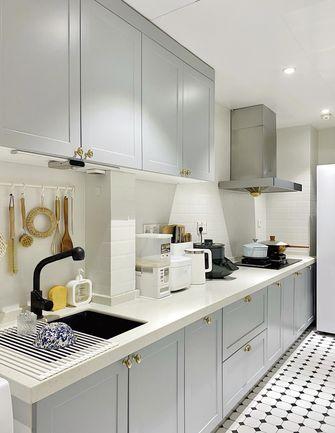 110平米三混搭风格厨房装修案例