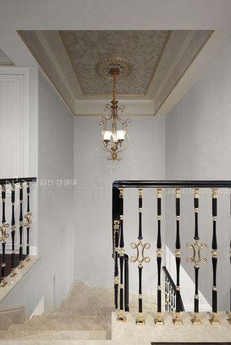 140平米四室两厅美式风格楼梯间欣赏图