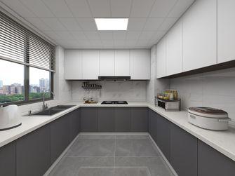 15-20万130平米三室两厅现代简约风格厨房装修效果图