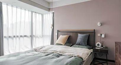 20万以上100平米英伦风格卧室装修案例