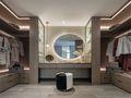 豪华型140平米三室两厅中式风格衣帽间装修图片大全