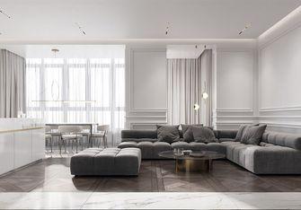 90平米一居室轻奢风格客厅欣赏图