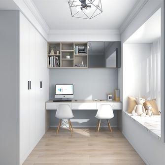 经济型120平米三室两厅混搭风格书房装修案例