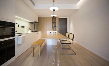 3-5万90平米现代简约风格餐厅装修案例
