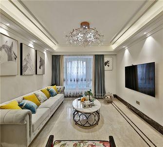 富裕型90平米美式风格客厅装修效果图