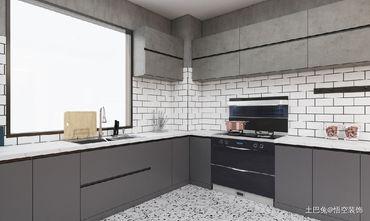 富裕型140平米工业风风格厨房装修案例