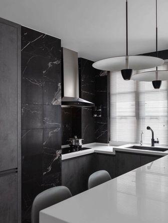 三室一厅现代简约风格厨房效果图