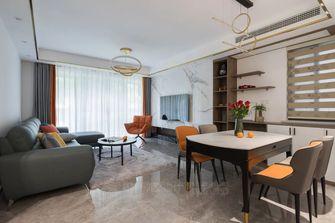 豪华型120平米三室两厅轻奢风格客厅设计图