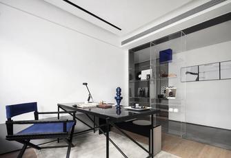 3万以下80平米三室两厅现代简约风格书房设计图
