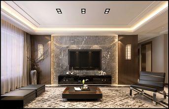 130平米三港式风格客厅设计图