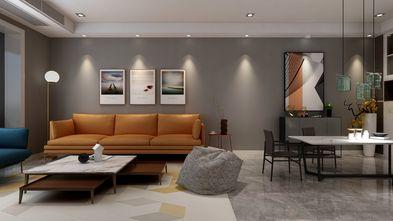 10-15万90平米三室三厅现代简约风格客厅装修图片大全