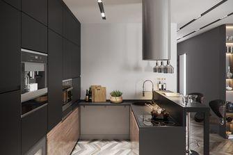 经济型70平米公寓现代简约风格厨房图