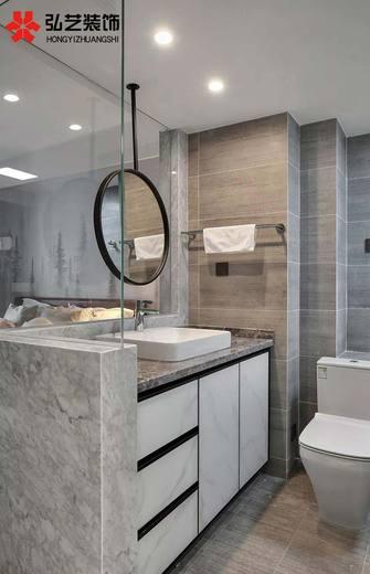 120平米三室两厅新古典风格卫生间装修案例